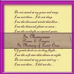 In Memoriam Poems & Prayers Album Pages