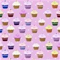 pink cupcake paper_vectorized