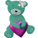 green bear heart