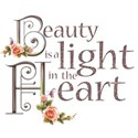 beauty is a light heart