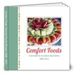Comfort Foods Recipe Book Template