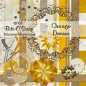 Orange Dream-BitsO Scrap