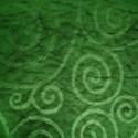 swirls texture green background paper