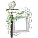 backyard sanctuary cluster frame weathervane