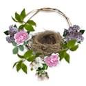 backyard sanctuary cluster nest lilac peony