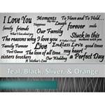 Teal & Black