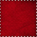 scalloped paper red