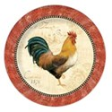 plate rooster