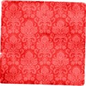 overlay paper red