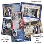 Graduation Announcement-Invite Layouts