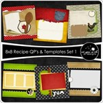 8x8 Recipe Cards - Set 1