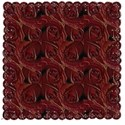 red rose mat
