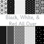 Black, White, & Red All Over -- 25 Free Papers!