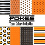 Pokes: Team Colors Collection -- Free Paper Pack!