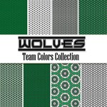 Wolves: Team Colors Collection -- Free Paper Pack!
