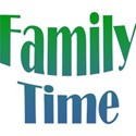 Word Art - Family Time BG