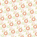 daisy stripe background paper