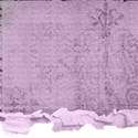 purple torn paper