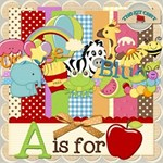 A IS FOR APPLE ABC KIT