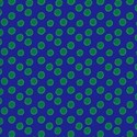 blue with green spots layering paper