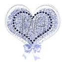 blue heart love