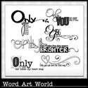 Only You Can Word Art