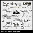 My Mother Word Art