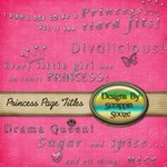 Girly Page Titles/Wordart