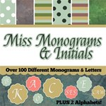Miss Monograms & Initials - over 250 items!