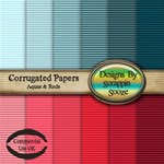 CorrugatedPapers - Set 4