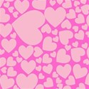 heart overlay back ground