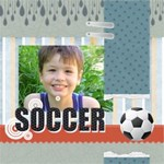 Soccer playing