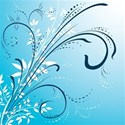 blue swirly background