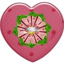 1pink button heart