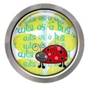 cute as a bug epoxy with siver frame