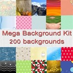 mega background kit