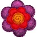 flower red orange purple