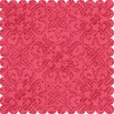 small red paper scrap layering paper