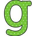 g - Green polka dot