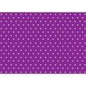 purple polka dort paper