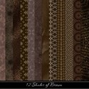 12 Shades of Brown Paper Pack Cover