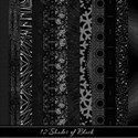 12 Shades of Black Paper Pack Cover