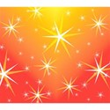 Christmas twinkling stars on varigated background