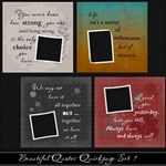 Beautiful Quotes Quickpage Set 1