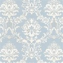 blue and white victorian background