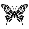 butterfly silohette