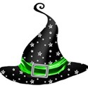 green star hat