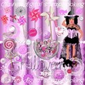 front page kit pink halloween