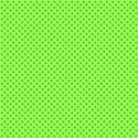 green with green polka dots