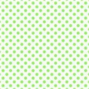 green polka dot paper 6 x 6 square